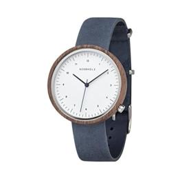 Kerbholz Armbanduhr Heinrich Walnut Slate Blue - 1