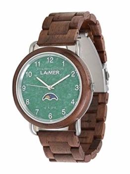 LAiMER Herren Holz Armbanduhr - 0122 Götz - 1