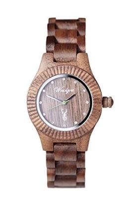 Waidzeit Damenuhr Holz GA03 GAMS Premium - 1
