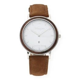 Waidzeit Unisex-Uhr Holz ALPIN Sommerzeit Armbanduhr SZ02 - 1