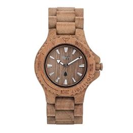 WEWOOD Damen Analog Quarz Smart Watch Armbanduhr mit Holz Armband WW01009 - 1