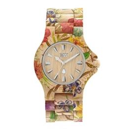 WEWOOD Damen Analog Quarz Smart Watch Armbanduhr mit Holz Armband WW01013 - 1