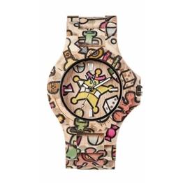 WEWOOD Damen Analog Quarz Smart Watch Armbanduhr mit Holz Armband WW52001 - 1