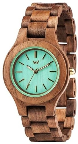 Wewood Damen-Armbanduhr Antea Analog Quarz One Size, beige/creme, braun - 1