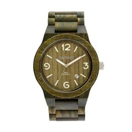 WEWOOD Herren Analog Quarz Smart Watch Armbanduhr mit Holz Armband WW08010 - 1