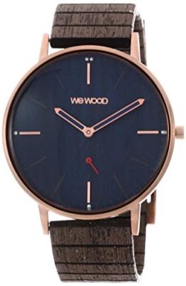 WEWOOD Herren Analog Quarz Smart Watch Armbanduhr mit Holz Armband WW63003 - 1