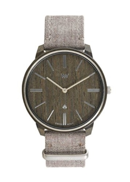 WeWood Herrenarmbanduhr Ross Nut Silver WW64002 - 1