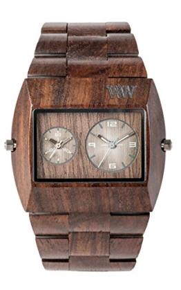 WeWood Jupiter RS Chocolate Herren-Holzuhr WW02015 - 1