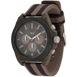 Wooden Watch Wewood Phoenix Chrono Wenge Earth 70359409 - 1