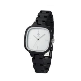 Zeitholz Damen-Holzuhr analog Quarz-Uhr mit Grendill-Armband Modell Roßwein - 1
