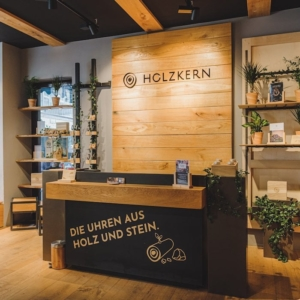 Holzkern Händler PopUp Store