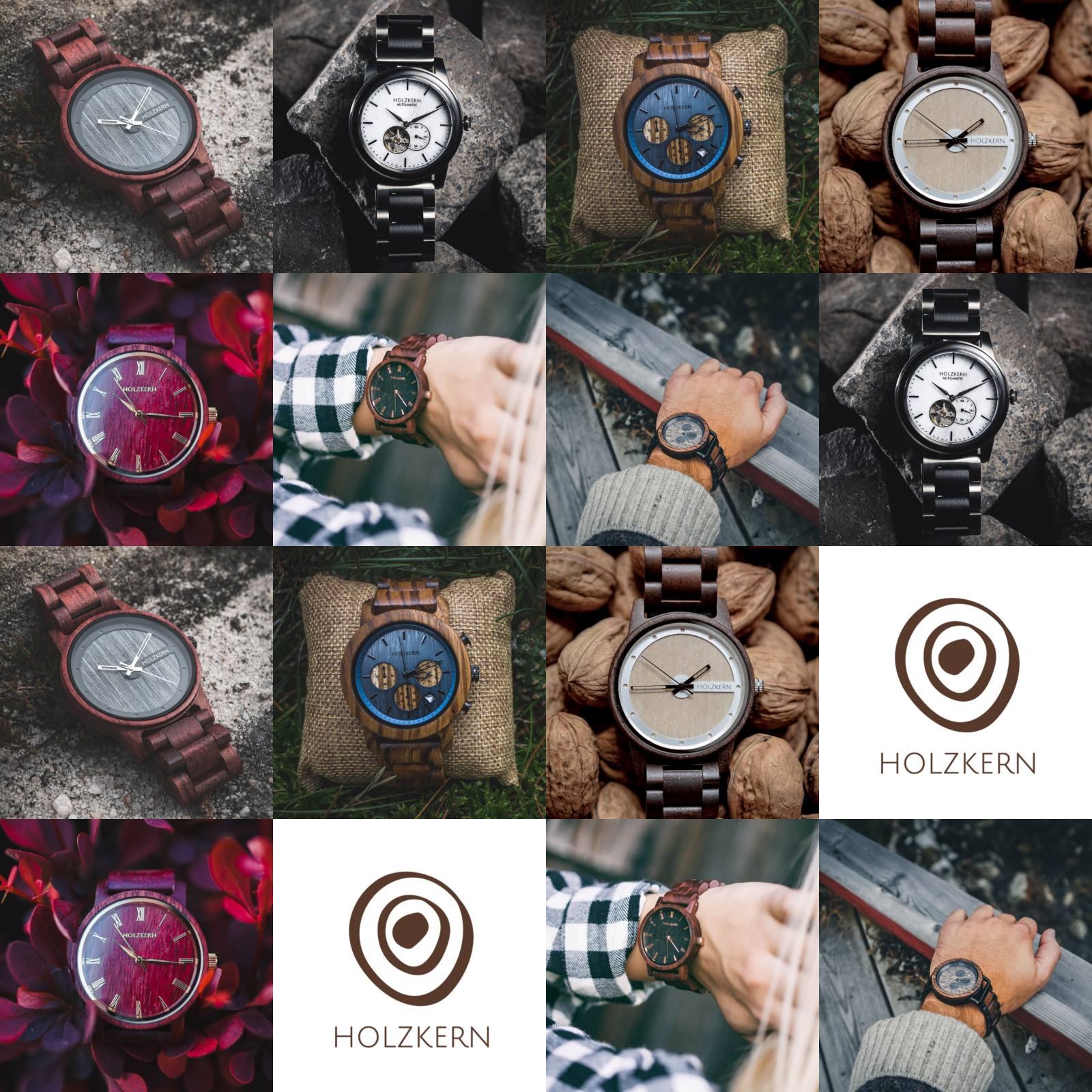 Holzkern Uhren Händler Deutschland